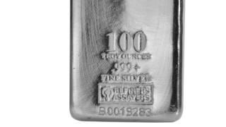 apmex silver bars   100 oz silver bar republic metals corporation rmc