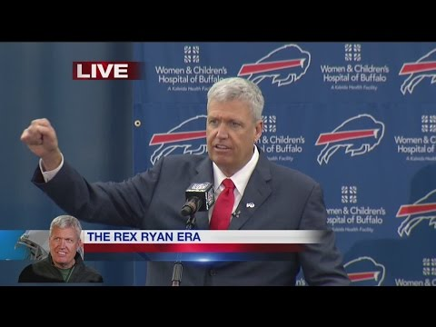 The introduction of Rex Ryan