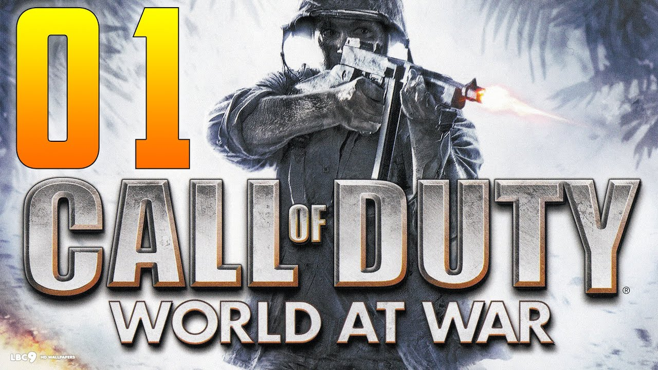 Call Of Duty World At War Mission 1 Semper Fi 1080p 60fps No