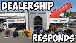 DEALERSHIP RESPONDS TO TAKING MY CAR FOR A JOYRIDE!! *SWEET JUSTICE*