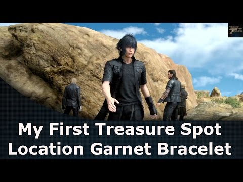 Final Fantasy XV My First Treasure Spot Location Garnet Bracelet