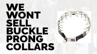 Why Leerburg Will Not Sell The New Herm Sprenger Buckle Prong Collar