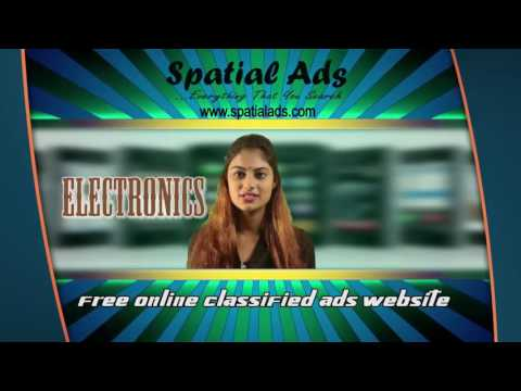 Spatial Ads - Free Online Classified Ads Website