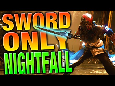 Swords Only Nightfall Challenge - Destiny Sunless Cell Swords Only - Destiny Funny Videos