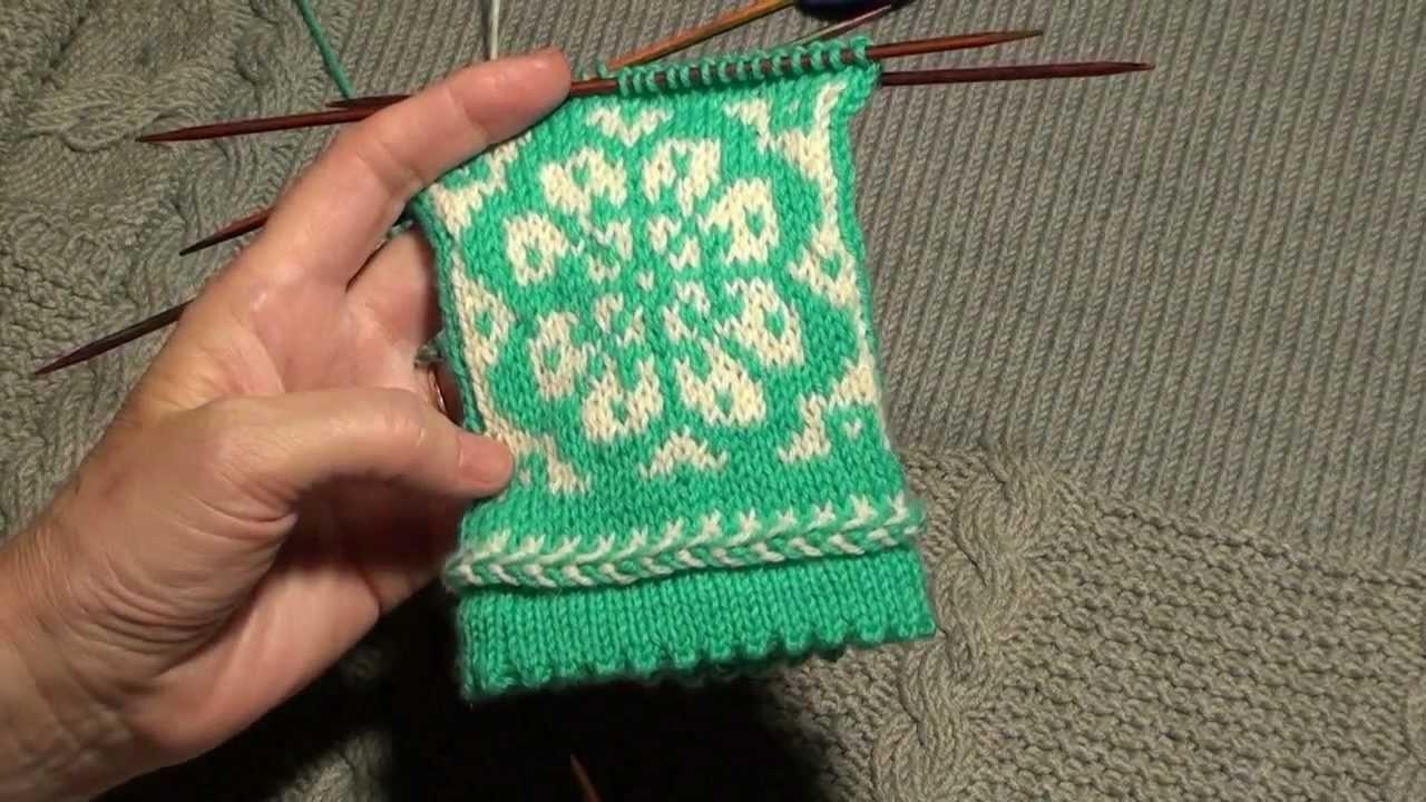 шерстяные истории вязание из двухцветных ниток