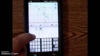 Desmos Graphing Calculator- Quadratic Regression