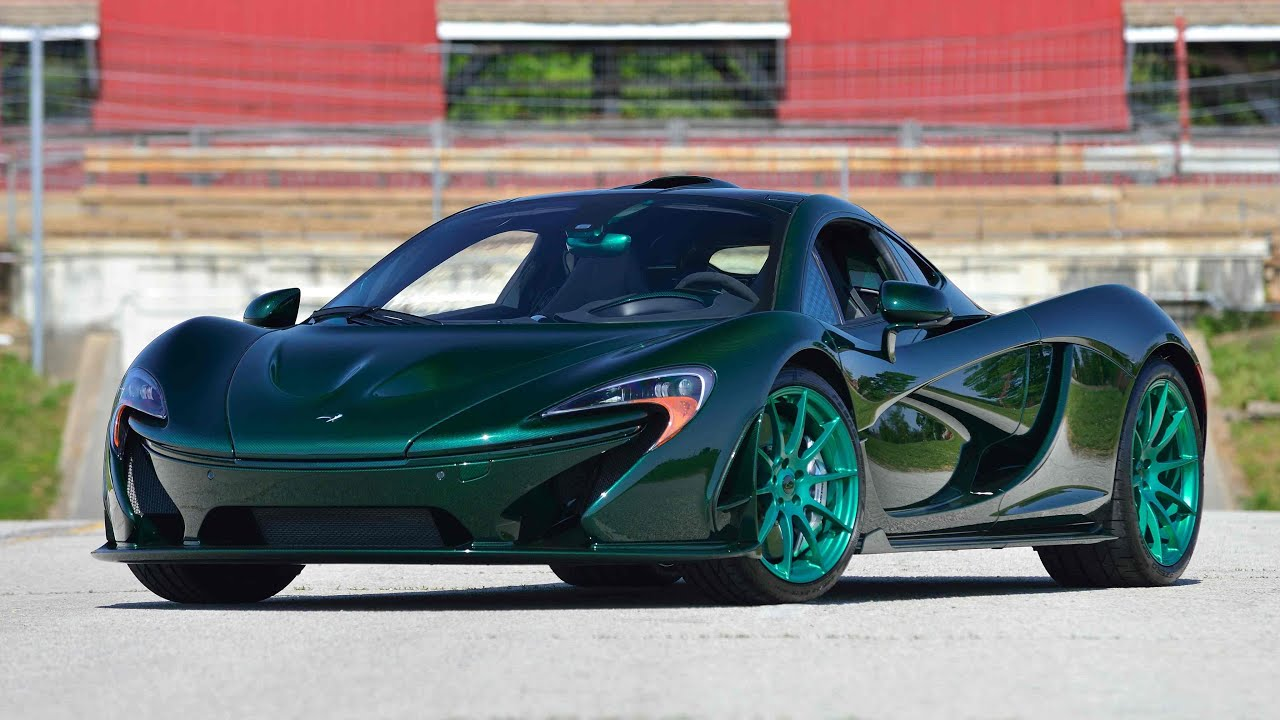 Charity Car Auctions >> 2014 McLaren P1 | S81 | Monterey 2016
