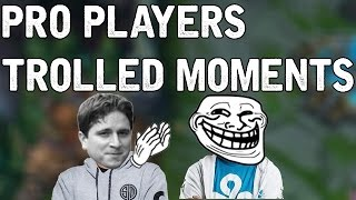 Pro Players TROLLED MOMENTS? (League of Legends)