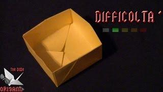 [ORIGAMI ITA] Scatola Semplice || Origami Utili/Per Bambini (E Non Solo!)