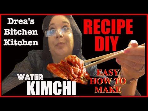 EASY WATER KIMCHI RECIPE - DREA'S BITCHEN KITCHEN NO:1Kaynak: YouTube · Süre: 11 dakika34 saniye