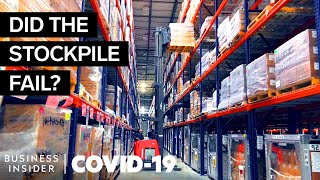 Why The $8 Billion Stockpile Didn't Save Us From The Coronavirus Spread