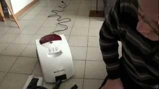 видео Пароочиститель Domena CS 6 ecofibre
