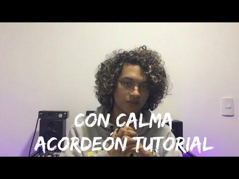 TUTORIAL ACORDEÓN - Con Calma  Daddy Yankee Mulett