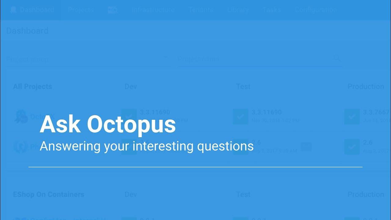Ask Octopus Episode #28 - JSON Configuration Variables