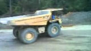 dump truck drifting !!!!