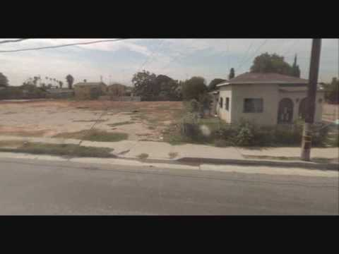 Ghetto streets of San Bernardino,CA