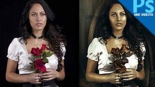 Tutorial Photoshop : Efecto pintura oleo by onevideito