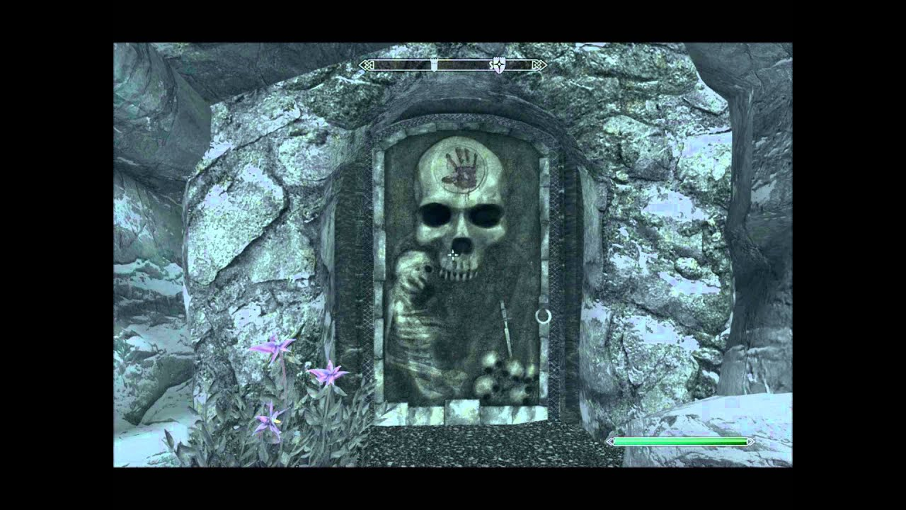 Skyrim Dark Brotherhood The Black Door Sound Loop Youtube