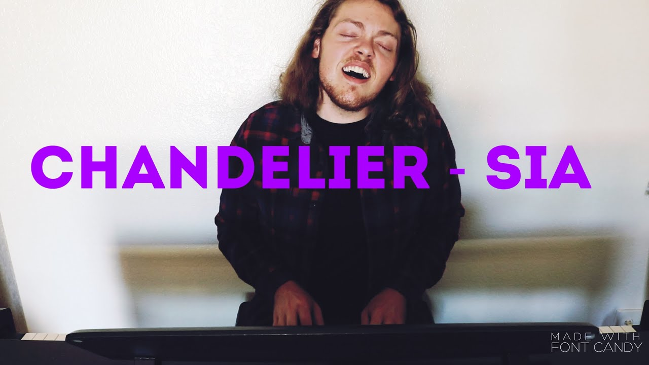 Chandelier - Sia piano cover (Aaron Todd Cover) - YouTube