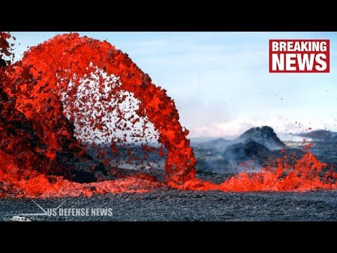 Hawaii Volcano LATEST: Unrelenting Torrent of LAVA Spews from Fissure after EARTHQUAKE