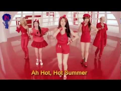 f(x) Hot summer Lyrics (+MV)