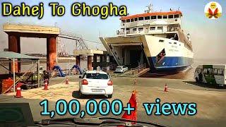 Dahej to ghogha  ro ro ferry //My Diwali tour// A TO Z IDEA //