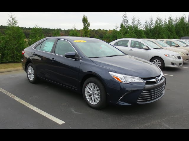 2016 Toyota Camry Le Full Tour Start Up At Massey Toyota
