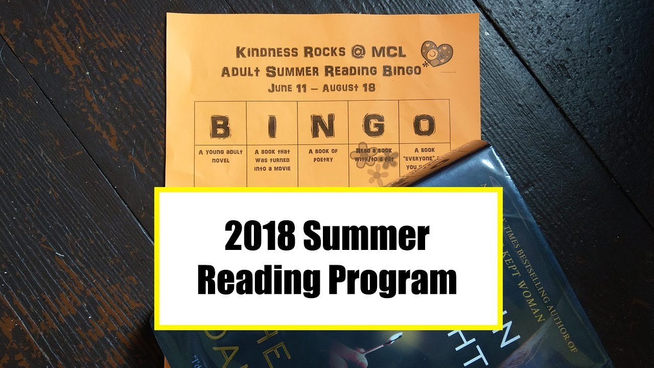 Adult summer reading program young already