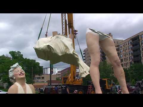 Marilyn Monroe Makes Her Debut in Downtown Stamford
