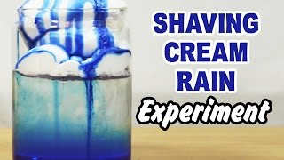 DIY Easy Science Experiment | Amazing Science Experiments | Shaving Cream Rain Experiment