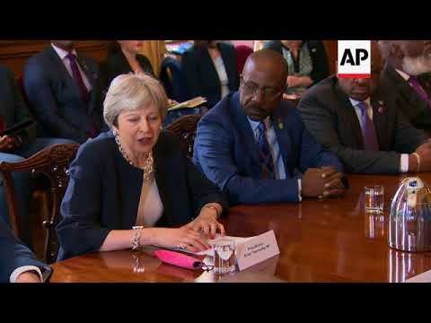 May meets Caribbean leaders to discuss Windrush generation issue