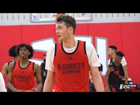 Matthew Hurt New Highlight Reel! Final 4 Schools Are Duke, UNC, Kentucky & Kansas!