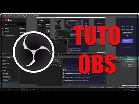 TUTO COMPLET OBS STUDIO!