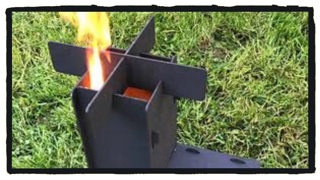 Asador Rocket Rocket Stove Estufa Rocket Youtube