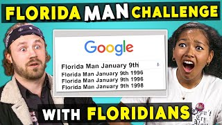 People From Florida Try The Florida Man Challenge (React)