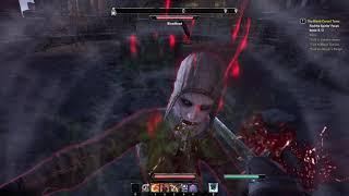 The Elder Scrolls Online Vampire gameplay part2(Rivenspire)(PC)[HD](PL)