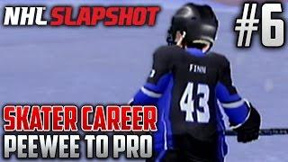 NHL Slapshot (Wii) | Peewee to Pro (Skater Career) | EP6 | TOP PROSPECT? ALREADY?