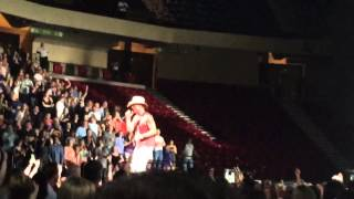 Living in fast forward  and Young Kenny Chesney Birmingham Alabama