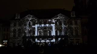 Signal Festival 2015 - Palác Kinských, Old Town Square , Prague / Praha Czech Republic