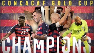 Gold Cup 2017 ● All of USA's Goals