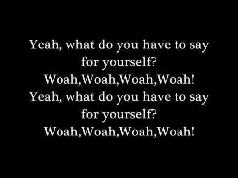 Say Anything- Admit It!!! Lyrics vid