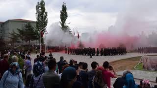 Vatan Marşı 371. Dönem Asteğmen Adayları Yemin Töreni