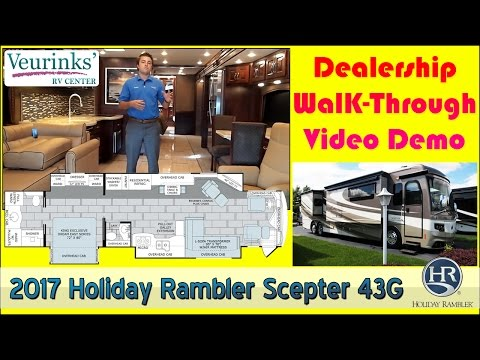 For Sale: 2017 Holiday Rambler Scepter 43G Review | Grand