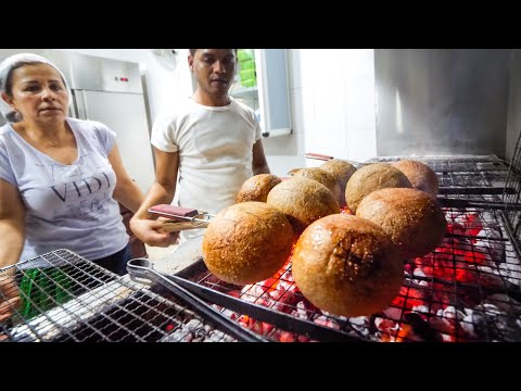 GIANT MEAT BALLS in Lebanon - Special KIBBEH Lebanese Food!