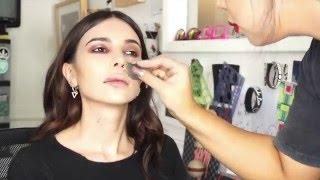 mgk all night long music video makeup tutorial