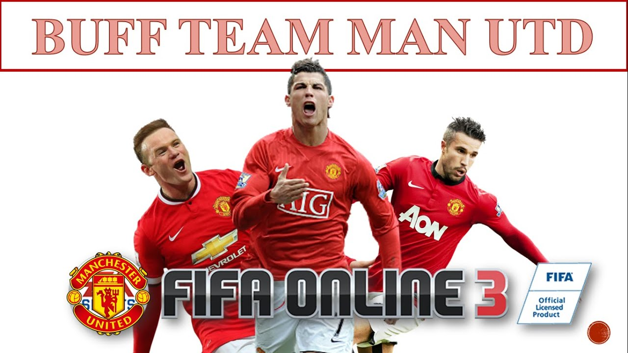 I Love FO3: Đội Hình Buff Team Color: Manchester United Trong Fifa Online 3 2016 #3