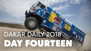 Day 14: Nikolaev on Target To Win Dakar Truck Category | Dakar Daily 2018