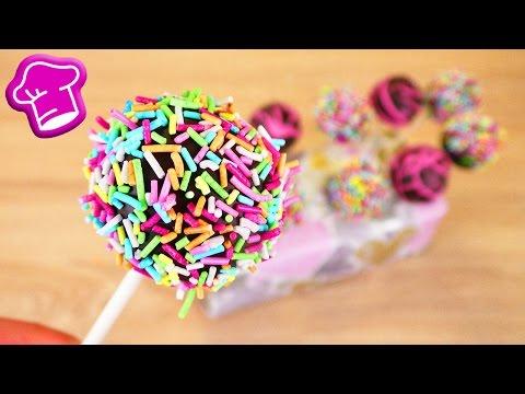 Cakepops selber machen | einfaches Grundrezept für wunderschöne Kuchen am Stiel | Super lecker