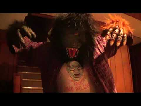 "David Rock Nelson, B-""Monster"" Moviemaker, ex-MARINE does ""APE MAN"" scenes! Part 7! Mon., 4-23-2018."