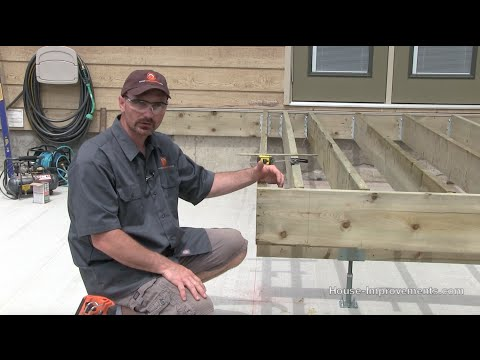 How To Build A Deck | #2 Framing [Beam/Joists/Ledger]
